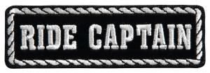 Ride captain badge