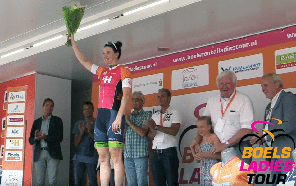 Roy wins stage four of the Boels Ladies Tour