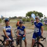 Gina, Gin & Yvette still smiling post race