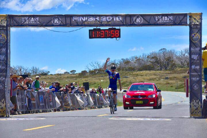 Chris Miller claims top spot in L'Étape Australia